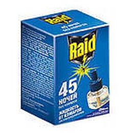 """Raid жидкость от комаров для фумигатора """"Эвкалипт"""" 45 ночей"""