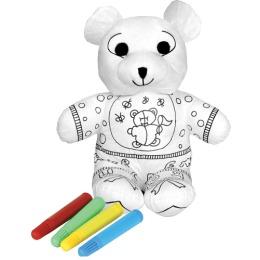 """Мир детства игрушка-раскраска """"Нарядный мишка"""""""