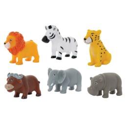 """Курносики набор игрушек-брызгалок для ванны """"Животные африки"""""""