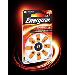 Energizer батарейка для слухового аппарата 13 dp-8, 1 шт