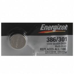 """Energizer батарейка часовая """"Silver oxide"""" 386/301 mbl, 10 шт"""