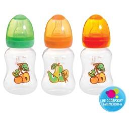 Мир детства бутылочка полипропиленовая с талией, 125 мл