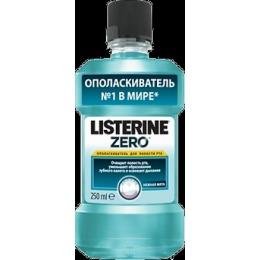 "Listerine ополаскиватель для полости рта ""Zero"", 250 мл"