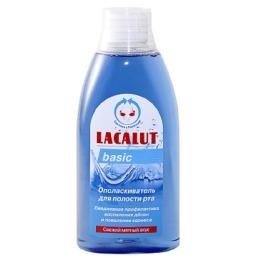 """Lacalut ополаскиватель для рта """"Basiс"""" 500 мл"""