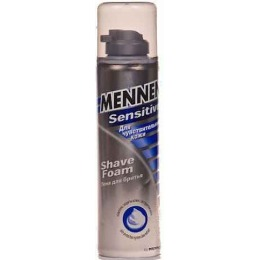 Mennen пена для бритья для чувствительной кожи, 300 мл