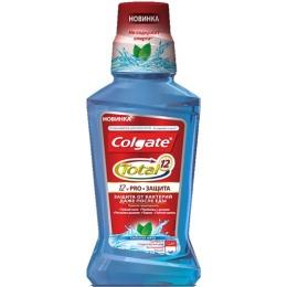 """Colgate колгейт ополаскиватель для полости рта """"Pro-защита. Cильная мята"""", 250 мл"""
