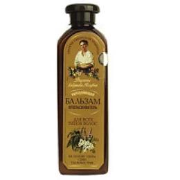 """Рецепты бабушки Агафьи бальзам """"Укрепляющий"""" для всех типов волос, 350 мл"""