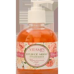 """Vitamin жидкое мыло """"Beauty. Изысканнная роза"""" питательное, 300 мл"""