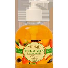 "Vitamin жидкое мыло ""Beauty. Манго папайя"" увлажняющее, 300 мл"