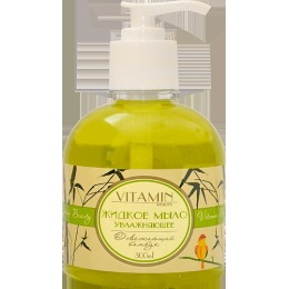 "Vitamin жидкое мыло ""Beauty. Освежающий бамбук"" увлажняющее, 300 мл"