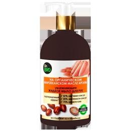 """Dr. bio мыло жидкое для рук """"Увлажняющее"""" на органическом марокканском масле арганы, 500 мл"""