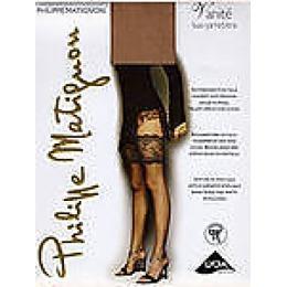 "Philippe Matignon чулки ""Vanite bas-jarretiere"" размер 4 nero"