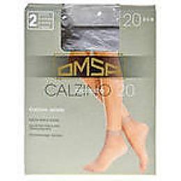 """Omsa носки """"Calzino Easy day 20"""" 2 пары nero"""