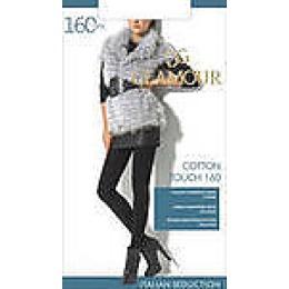 "Glamour колготки ""Cotton touch 160"" размер 2 nero"