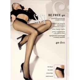 """SiSi колготки """"Be free 40"""" размер 2 nero"""