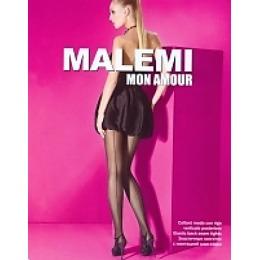 "Malemi колготки ""Mon amour 20"" со швом, nero"