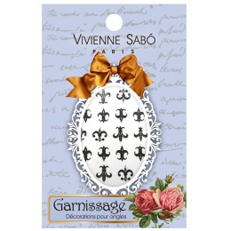 """Vivienne Sabo декорация для ногтей """"Garnissage"""", тон 09, 3,6 г"""