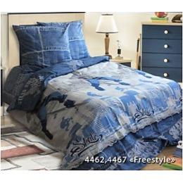 "Блаkiт комплект постельного белья ""Подросток. Фристал"" 1.5 спальное, наволочки 70х70 см"