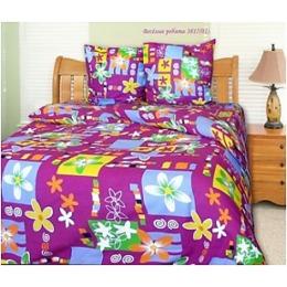 """Блаkiт комплект постельного белья """"Веселые ребята"""" 2-х спальное, наволочки 50х70 см"""