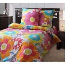 """Блаkiт комплект постельного белья """"Цветик семицветик"""" 1.5 спальное, наволочки 70х70 см"""