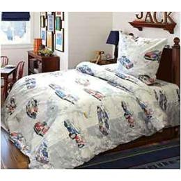 """Блаkiт комплект постельного белья """"Подросток. Авторалли"""" 1.5 спальное, наволочки 70х70 см"""
