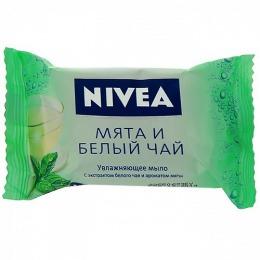"""Nivea мыло-уход """"Мята и белый чай"""", 90 г"""
