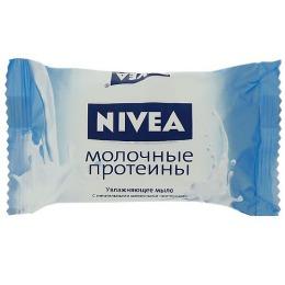 "Nivea мыло-уход ""Молочные протеины"", 90 г"