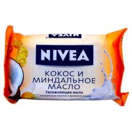 """Nivea мыло-уход """"Кокос и миндальное масло"""", 90 г"""