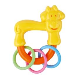 "Курносики игрушка-погремушка ""Коровка с колечками"""