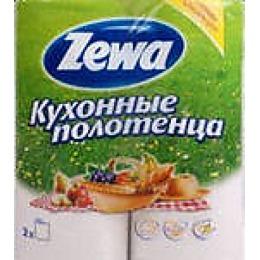 """Zewa полотенца кухонные """"Летняя коллекция"""" 2-ух слойные"""