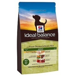 "Hill's корм для взрослых собак ""Ideal balance"" курица/рис"