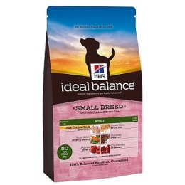 "Hill's корм для взрослых собак ""Ideal balance"" мини курица/рис"