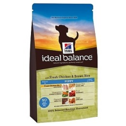 "Hill's корм для щенков ""Ideal balance"" курица/рис"