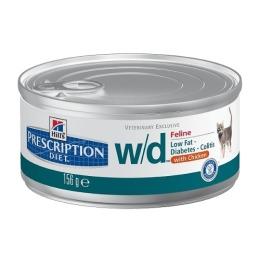 """Hill's корм для кошек """"Prescription diet"""" w/d поддержания веса"""