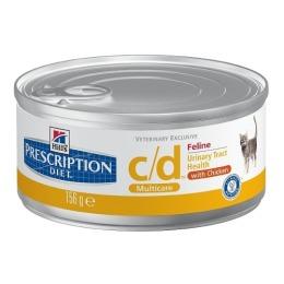 "Hill's корм для кошек уролитиазированных ""Prescription diet"" с/d  с курицей"