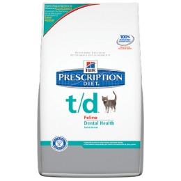 "Hill's корм для кошек ""Prescription diet"" t/d  для зубов"