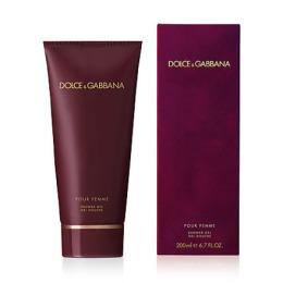 "Dolce & Gabbana гель для душа ""Pour Femme"", 200 мл"