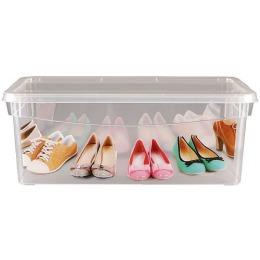 Бытпласт Ящик для обуви с аппликацией 33*19*12 см