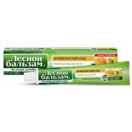 """Лесной бальзам зубная паста """"Антивозрастной уход"""" с экстрактами прополиса и зверобоя на отваре трав, 75 мл"""