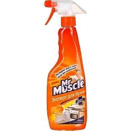 """Мистер Мускул чистящее и моющее средство для кухни """"Эксперт для кухни. Энергия цитруса"""", с распылителем"""