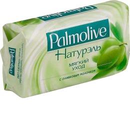 """Palmolive мыло """"Натурэль. Мягкий уход"""" с экстрактом оливы и увлажняющим молочком, 90 г"""
