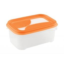 """Бытпласт контейнер """"Ziplook"""" для холодильника и микроволновой печи 0,7 л"""