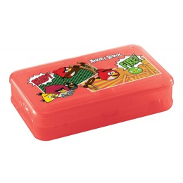 Бытпласт коробка для мелочей с декором Angry Birds