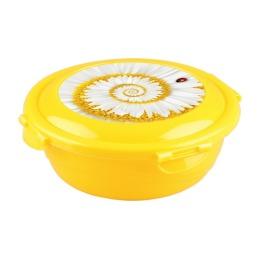 """Бытпласт контейнер для продуктов """"Click&Lock"""" с декором 0.58 л"""