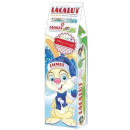 """Lacalut набор """"Зубная паста Kids 4-8 лет 50 мл + Зубная щетка Kids 4+ лет"""""""