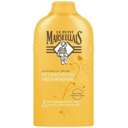 """Le Petit Marseillais гель-крем для душа """"Увлажняющий мед и молочко миндаля"""""""