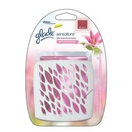 """Glade освежитель воздуха """"Аромакристалл. Цветочное совершенство"""" для ванной комнаты"""