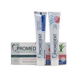 """32 Бионорма набор зубных паст """"Promedent. Утро - вечер"""" (утреннее пробуждение 70 мл + Вечернее восстановление 70 мл)"""