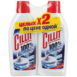 Cillit средство для удаления известкового налета и ржавчины, 2 х 450 мл