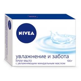 """Nivea крем-мыло """"Нежное увлажнение"""", 100 г"""